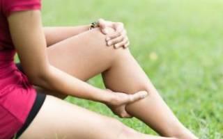 Почему тянет левую ногу под коленом