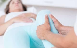 Ноющая боль ниже колена в кости