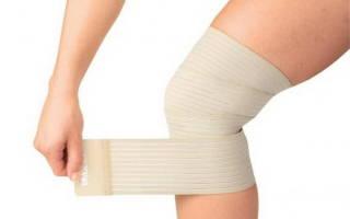 Как выбрать эластичный бинт для колена