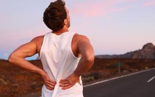 Боль в позвоночнике после бега