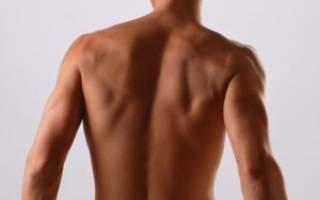 Опухла мышца на спине справа от позвоночника