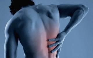 Боль в грудном отделе позвоночника после падения