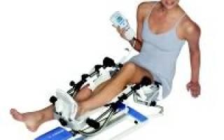 Упражнения на сгибание колена после операции