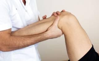 Не разгибается колено до конца упражнения