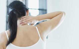Защемление в шейном отделе позвоночника болит рука