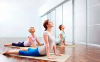 Упражнения йоги для пояснично крестцового отдела позвоночника