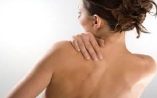 Боль в спине слева ниже лопатки