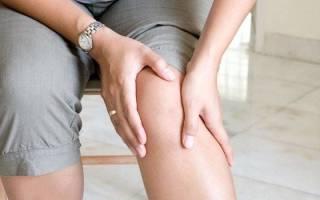 Ноет правая нога ниже колена причины