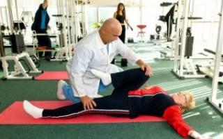 Доктор бубновский гимнастика для поясничного отдела позвоночника видео Боль в поясничном отделе