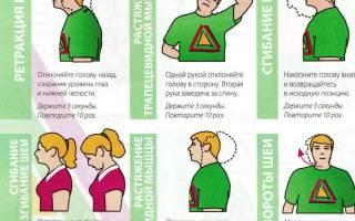 Лфк при нестабильности шейного отдела позвоночника у детей