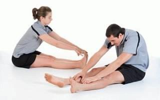 Как разминать ногу после перелома колена