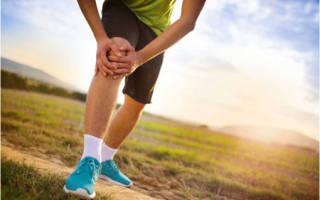 Боль в правом колене при беге