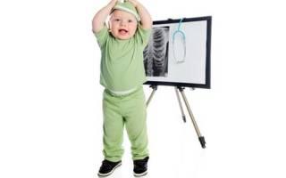С какого возраста можно делать рентген позвоночника